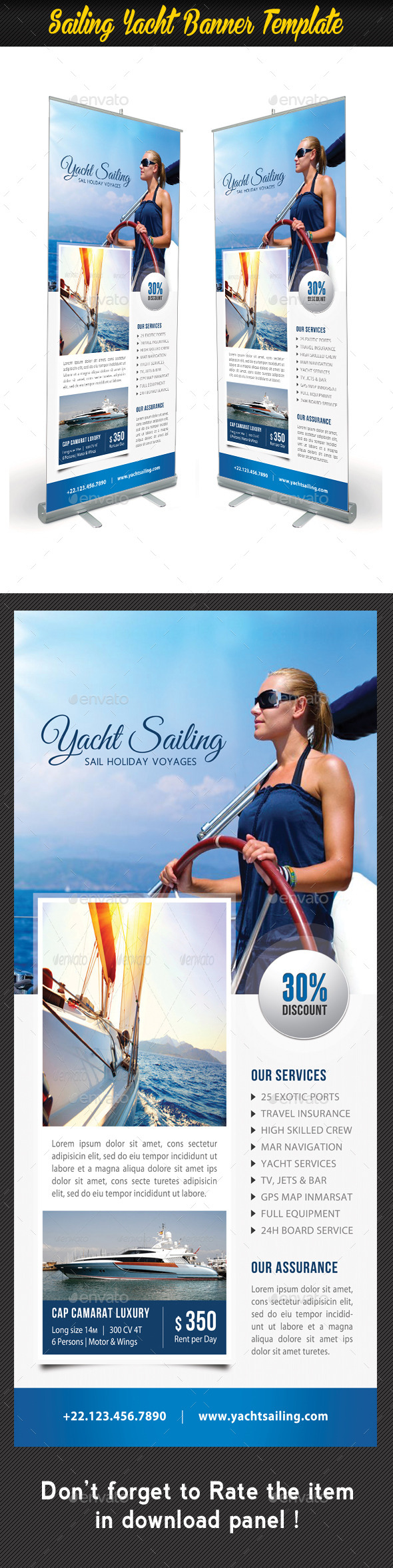 GraphicRiver Sailing Yacht Banner Template 05 11172057