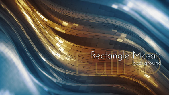 Rectangle Mosaic Background