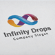 Infinity Drops Logo - GraphicRiver Item for Sale