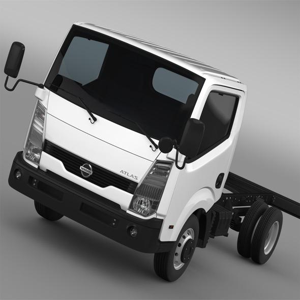 3DOcean Nissan Atlas Chassi 2013 11172312