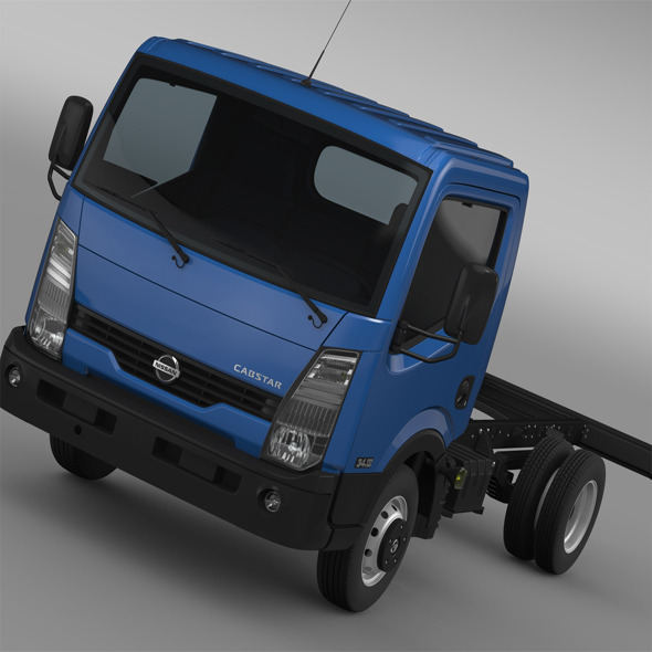 Nissan Cabstar Chassi 2013 - 3DOcean Item for Sale