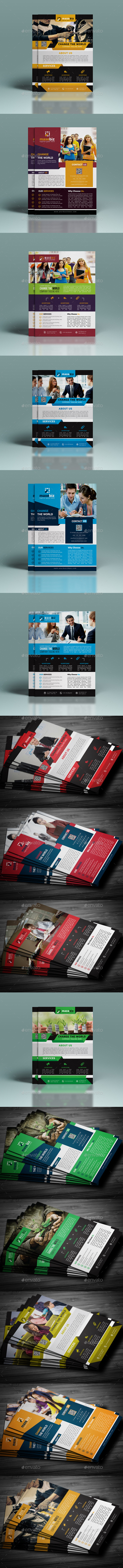 GraphicRiver Corporate Flyer Bundle 11172604