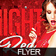 Flyer Hot Red Girl