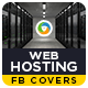 Web Hosting Facebook Cover - GraphicRiver Item for Sale