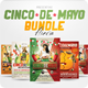 4 Cinco de Mayo fliers Bundle - GraphicRiver Item for Sale