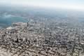 Aerial View of Montevideo from Window Plane - PhotoDune Item for Sale