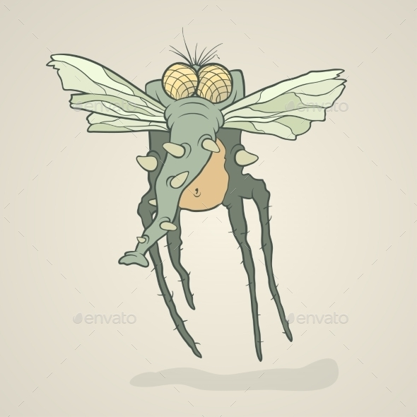 GraphicRiver Fly Monster 11173046