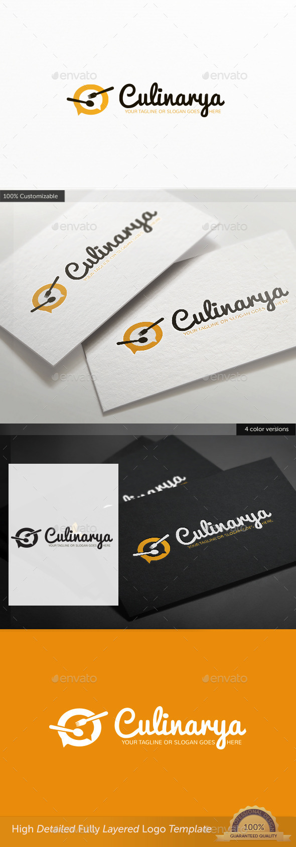 GraphicRiver Culinary Site Logo 11173113