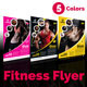 Fitness / Gym Flyer Template v2 - GraphicRiver Item for Sale