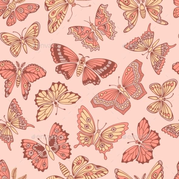 GraphicRiver Butterflies 11173159