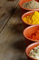 Paprika, mustard, coriander and turmeric spices - PhotoDune Item for Sale