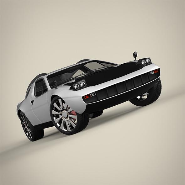 3DOcean Sport car 11173533