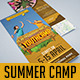 Trifold Brochure 35: Summer Youth Camp - GraphicRiver Item for Sale