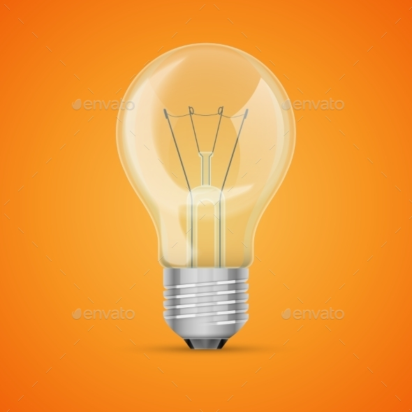 GraphicRiver Realistic Light Bulb 11174244