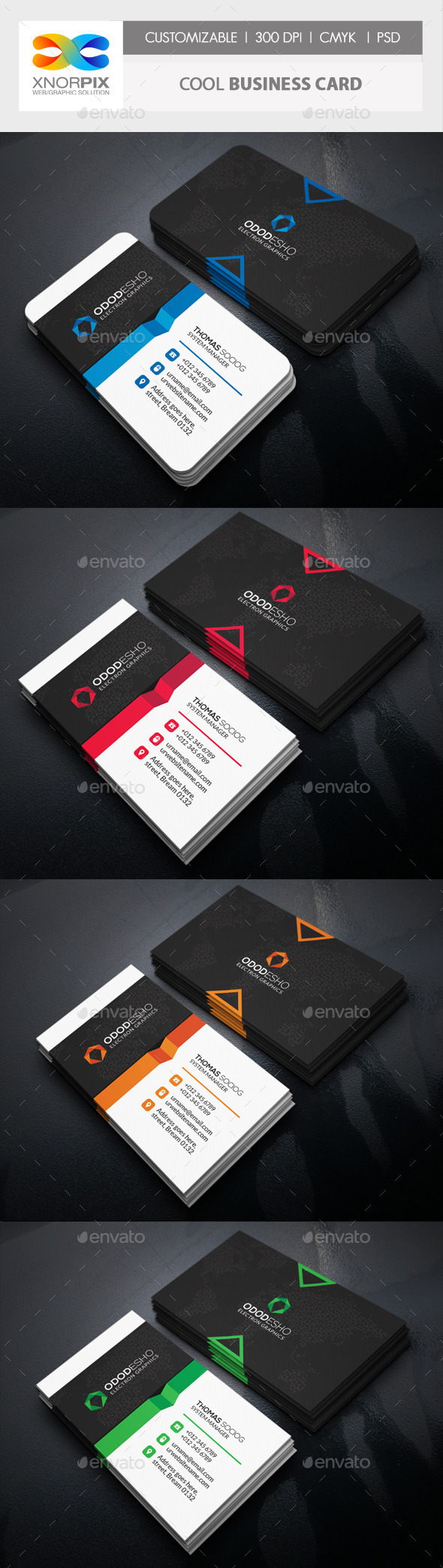 GraphicRiver Cool Business Card 11174479
