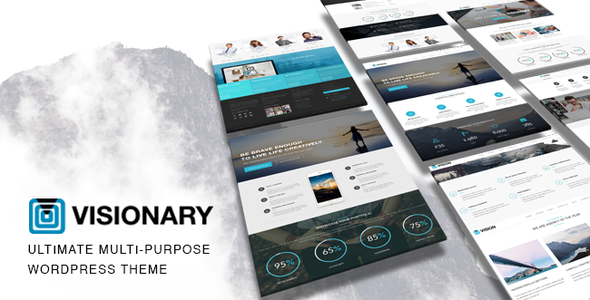 ThemeForest Vision Multi-Purpose Wordpress Business Theme 11125538