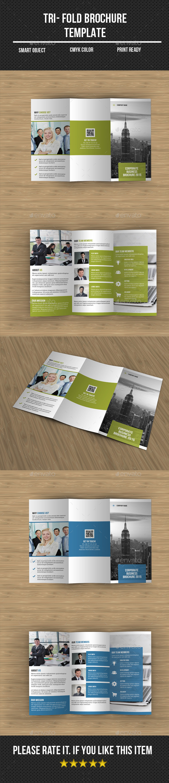 GraphicRiver Corporate Tri- Fold Brochure 11174919