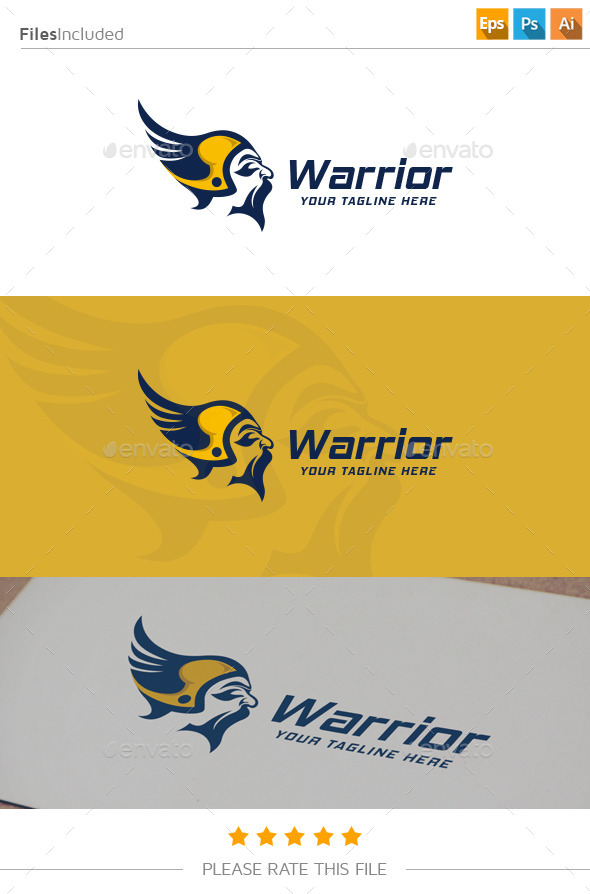 GraphicRiver Warrior Logo 11174968