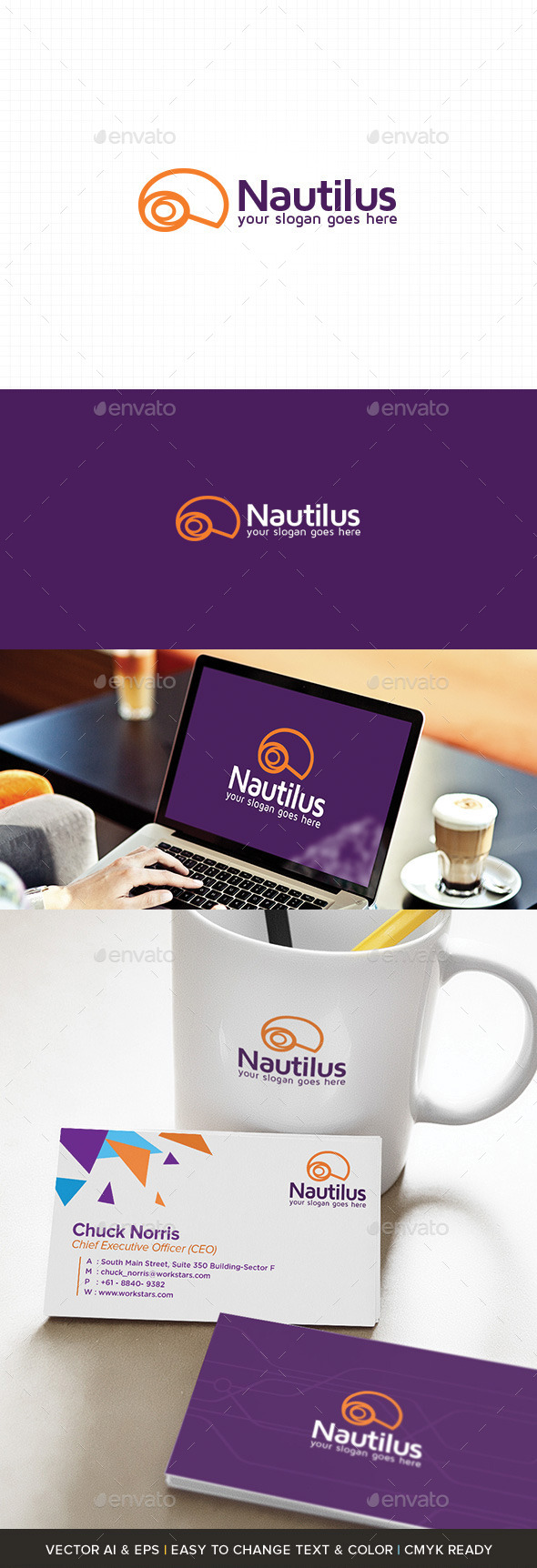 GraphicRiver Strong Media Logo Template 11174969