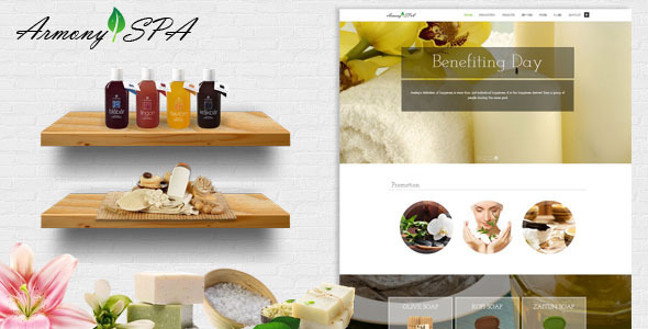 ThemeForest Armony Spa Beauty Salon Responsive Theme 11175021
