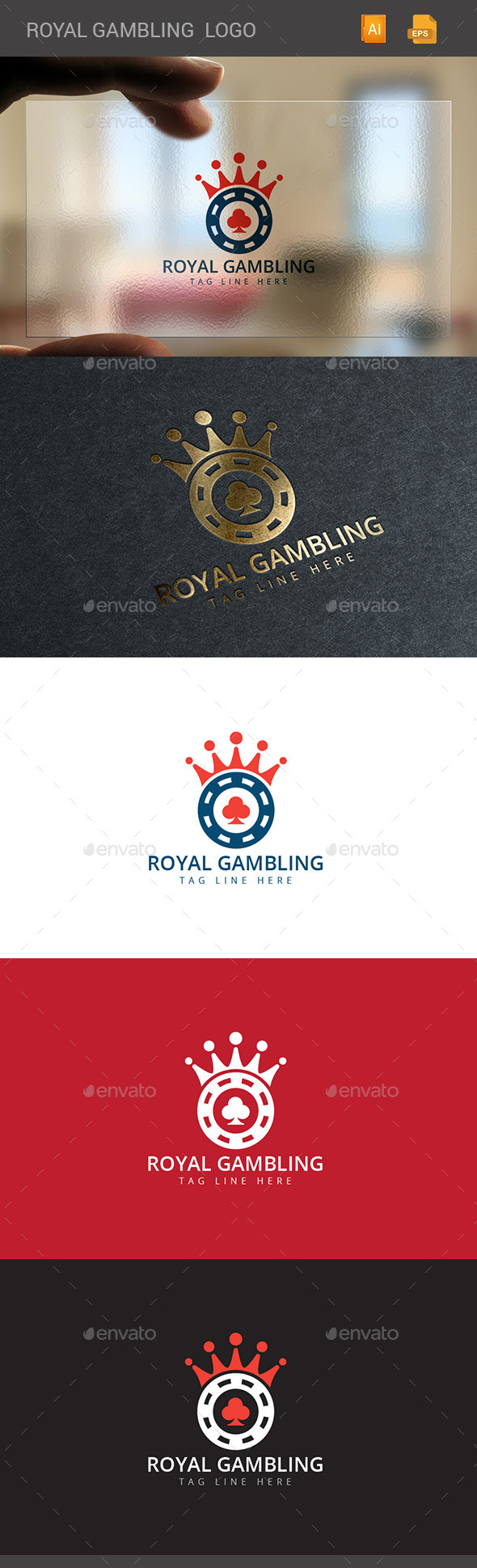 GraphicRiver Crown Gambling 11175167