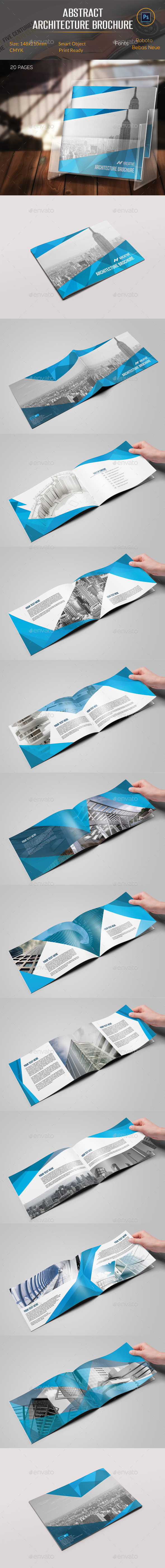 GraphicRiver Abstract Architecture Brochure 11175213