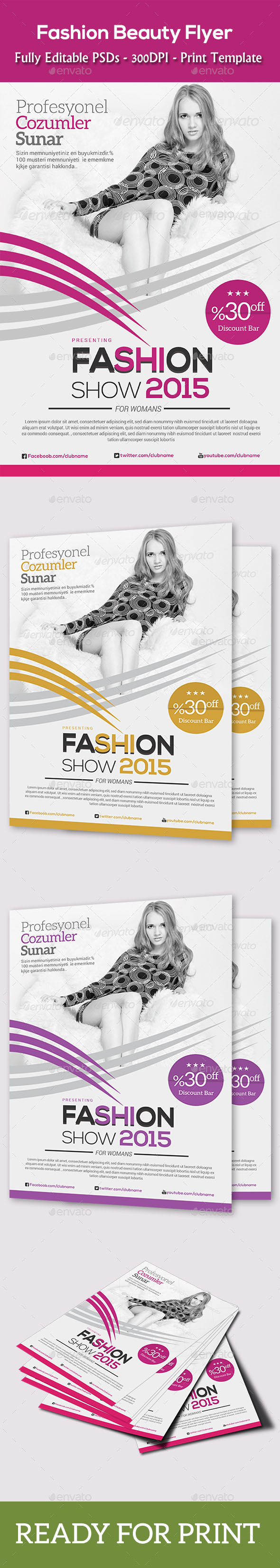 GraphicRiver Fashion Agency Flyer 11175225