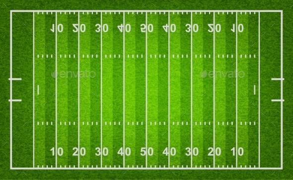 GraphicRiver American Football Field 11175265