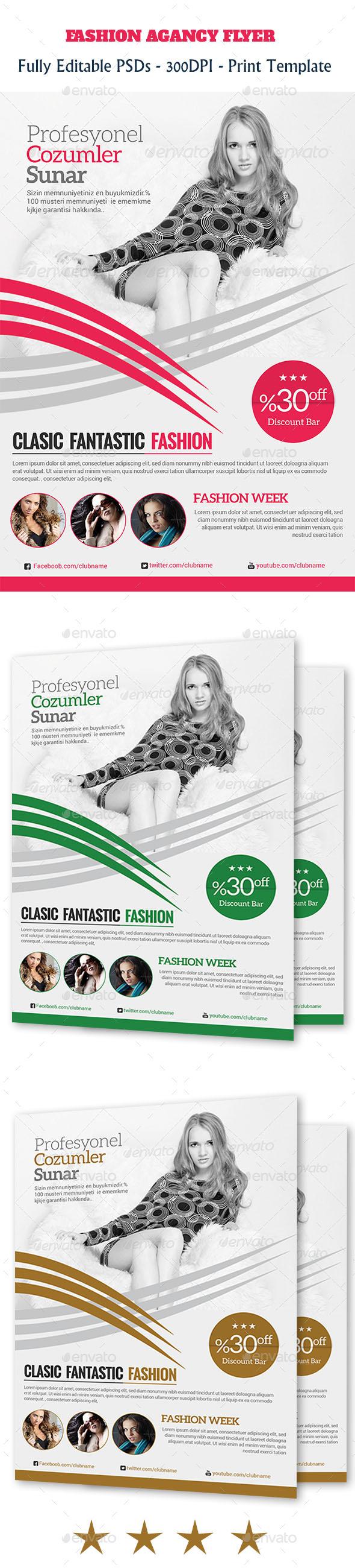 GraphicRiver Fashion Flyer Temp 11175693