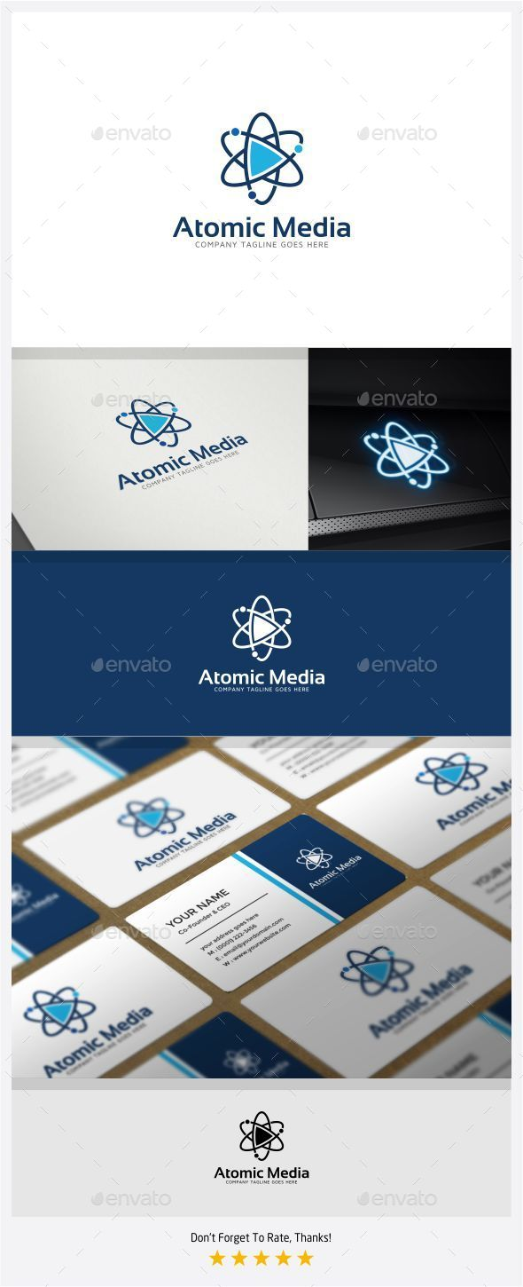 GraphicRiver Atomic Media Logo 11175702