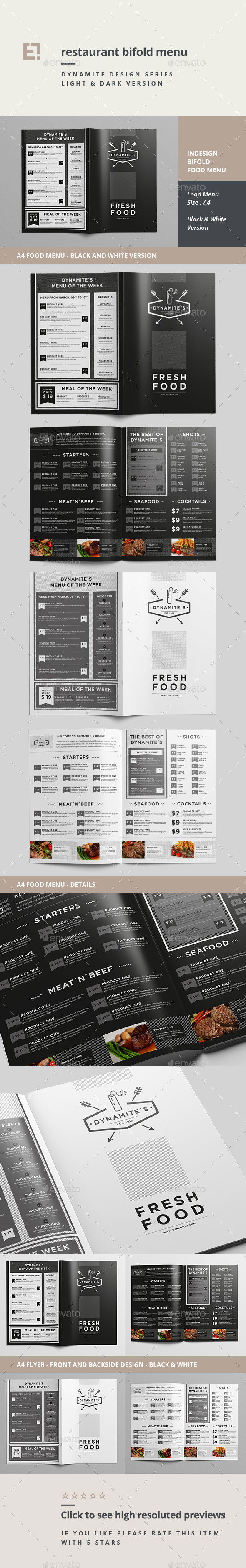 GraphicRiver Restaurant Menu 11175717