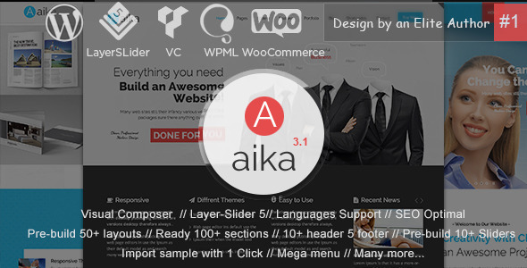 Aaika - MultiPurpose WordPress Theme