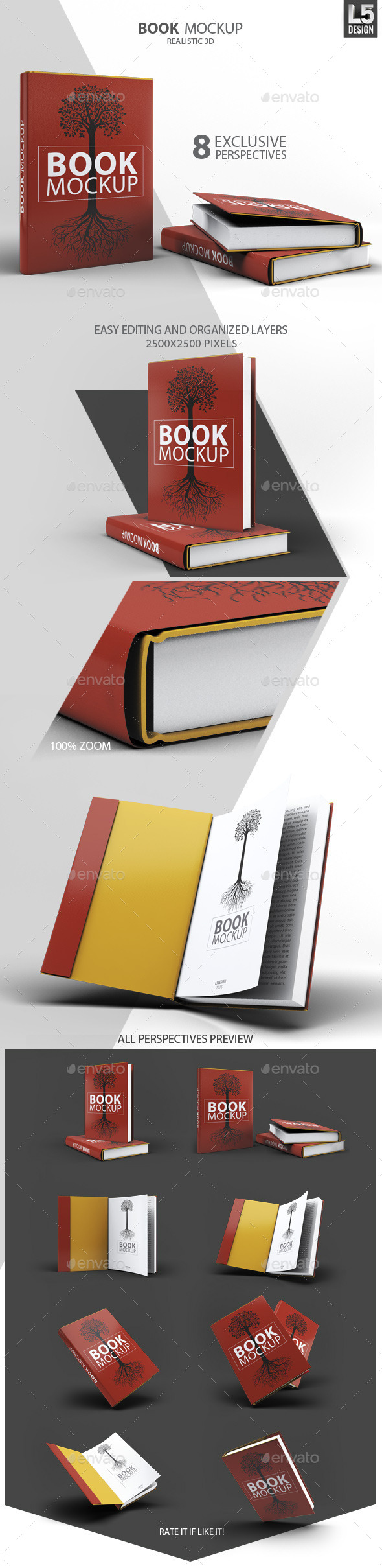 GraphicRiver Book Mock-Up 11175795