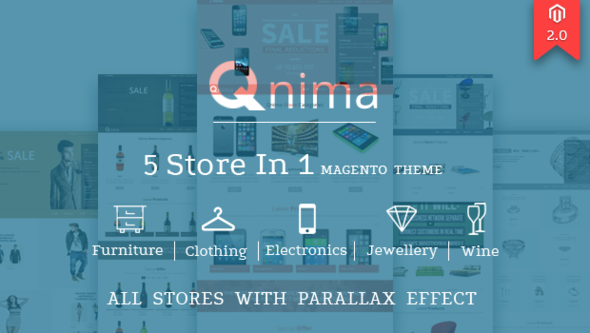 Download Qnima – Versatile & Responsive Magento Theme nulled download