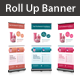 Product Promotion Rollup Banner - GraphicRiver Item for Sale