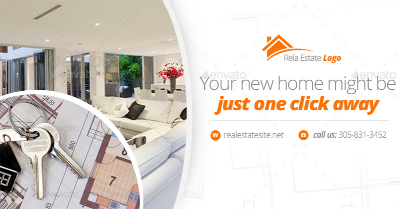 real estate facebook covers and banners by zokamaric