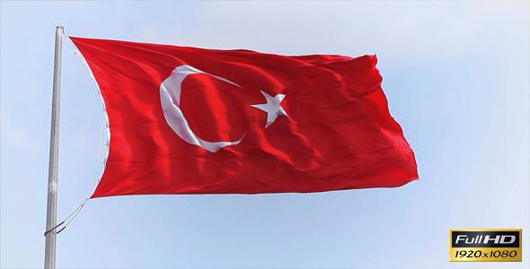VideoHive Turkish Flag 11177134