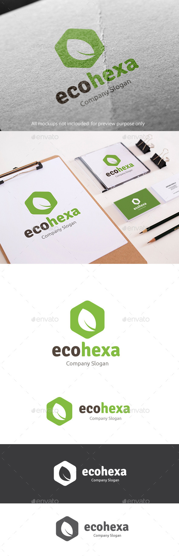 GraphicRiver Eco Green Logo 11177135