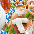 Bavarian white sausages and pretzels - PhotoDune Item for Sale