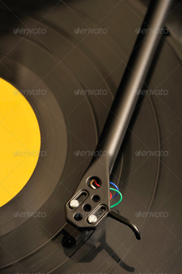 Turntable - Stock Photo - Images