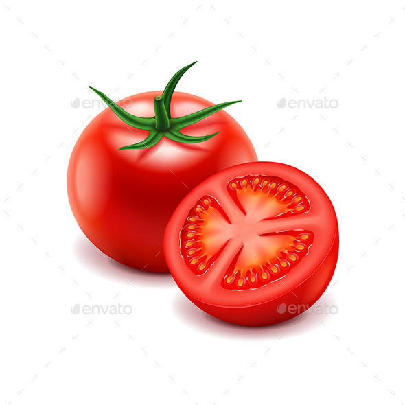 GraphicRiver Tomato and Slice 11178282