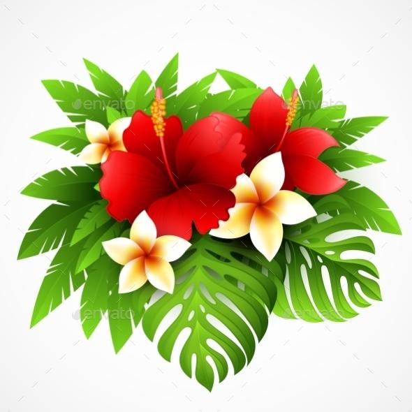 GraphicRiver Tropical Plants 11178291