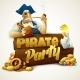 Pirate Party Poster - GraphicRiver Item for Sale