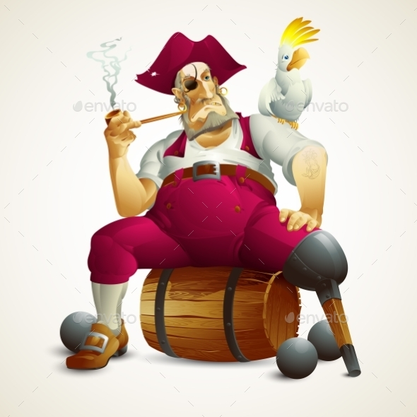 GraphicRiver Pirate 11178297