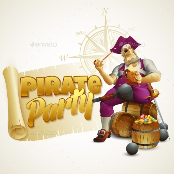 GraphicRiver Pirate Party 11178301