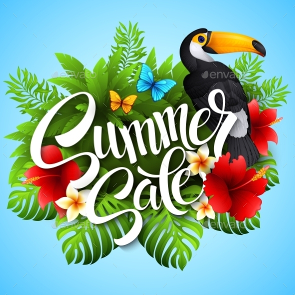 GraphicRiver Tropical Summer 11178304