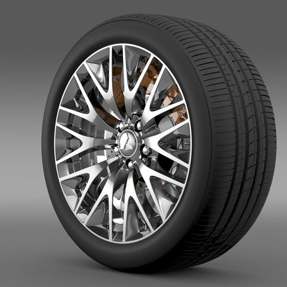 3DOcean Mitsubishi Dignity wheel 11178367