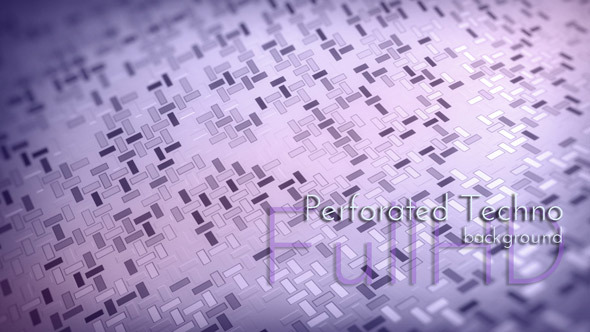 Violet Perforated Background