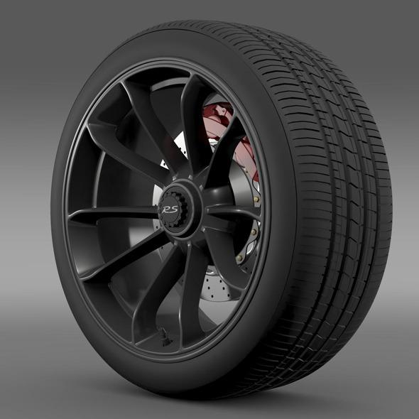 Porsche 911 GT3 RS 2015 wheel - 3DOcean Item for Sale