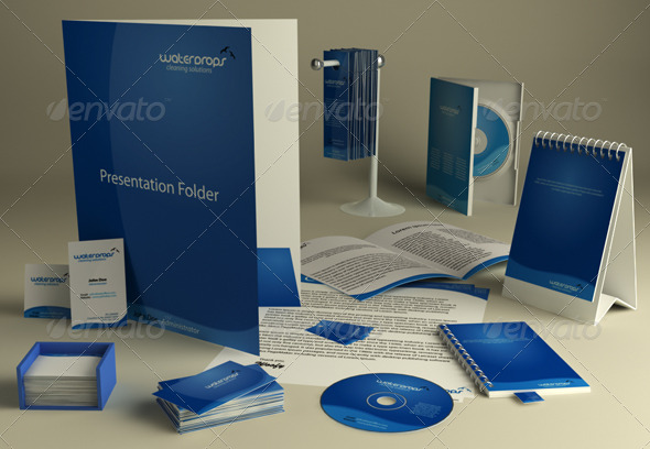 Stationary Presentation Kit - 3DOcean Item for Sale